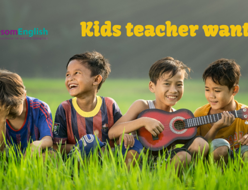 Kids teacher wanted