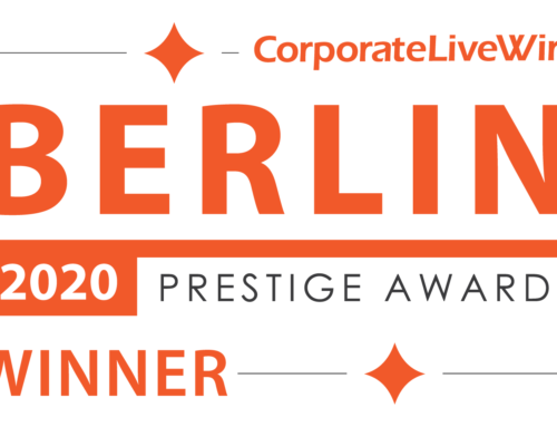 Winner Berlin Prestige Awards 2020 –  English language school of the Year